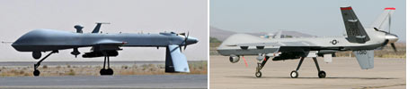 Predator and Reaper drones