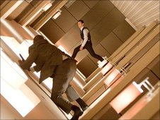A rotating corridor in Inception