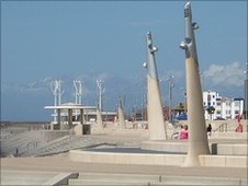 Art work will appear throughout the next 18 months and Wyre Borough Council will continue to work with the Cleveleys Seafront Partnership to make full use of the new public open space areas, holding events and activities