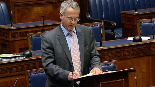 Social Development Minister Alex Attwood brought the Welfare Reform Bill for approval to the assembly on 30 June 2010.