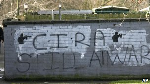 Continuity IRA graffiti