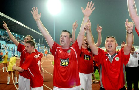 Cliftonville celebrations in Croatia