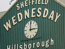 Sheffield Wednesday stadium Hillsborough