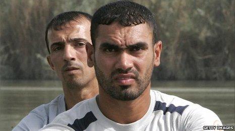 Haider Rashid and Hamza Hussein