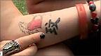 Philippa's tattoo