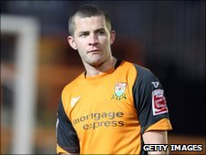 Exeter striker John O'Flynn pictured while at Barnet
