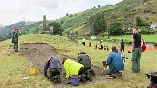 archaeolgical dig
