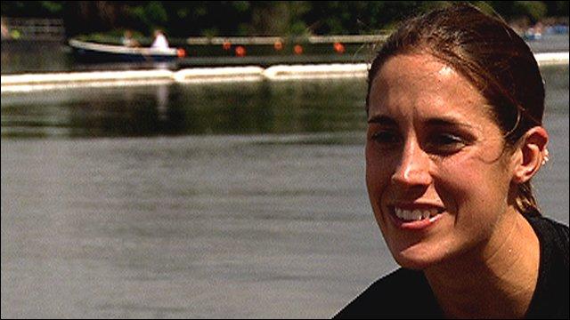 Triathlete Helen Jenkins