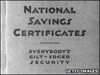 National Savings Certificates Book from November 1939