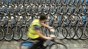 Bikes for London&#039;s new rental scheme
