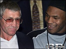 Ken Buchanan and Mike Tyson
