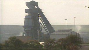 Grimethorpe Colliery in October 1992