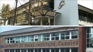University of Glamorgan and UWIC