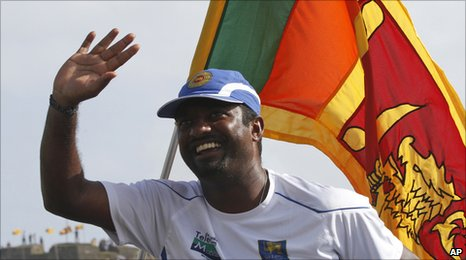 Sri lanka spinner Muttiah Muralitharan