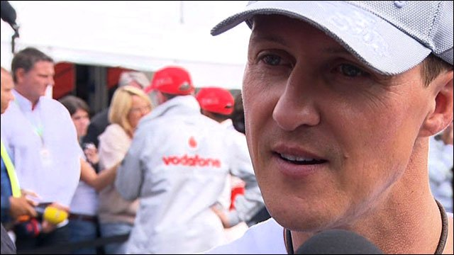 Mercedes GP's Michael Schumacher