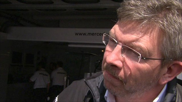 Mercedes' Ross Brawn
