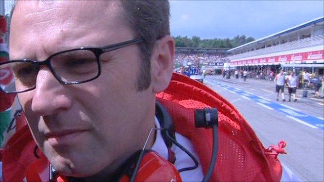 Ferrari's Stefano Domenicali