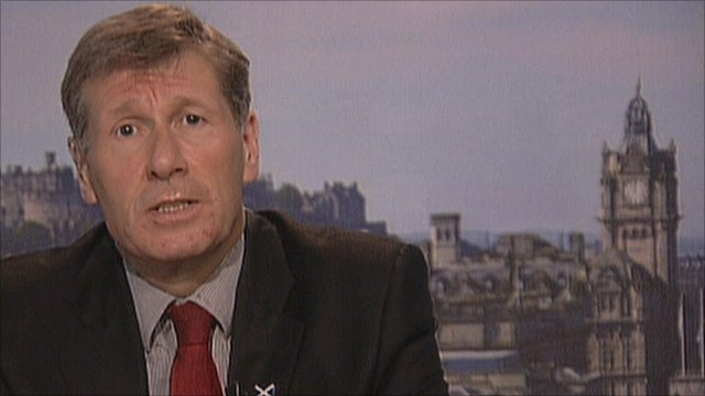 Scottish justice secretary Kenny MacAskill