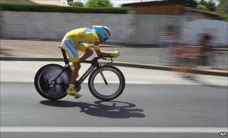 f02ca6e59 BBC Sport - Cycling - Alberto Contador set to win third Tour de ...