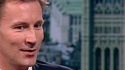 Culture Secretary Jeremy Hunt MP