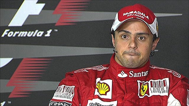 Felipe Massa finished second at Hockenheim