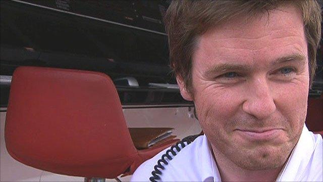 Ferrari engineer Rob Smedley