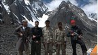 Security guards with the expedition team (photo: Mark Wynne)