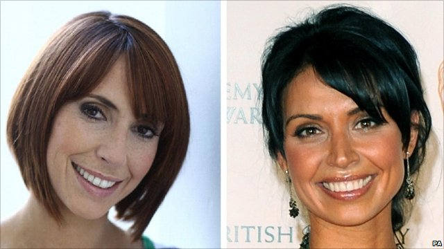 Alex Jones and former One Show presenter Christine Bleakley
