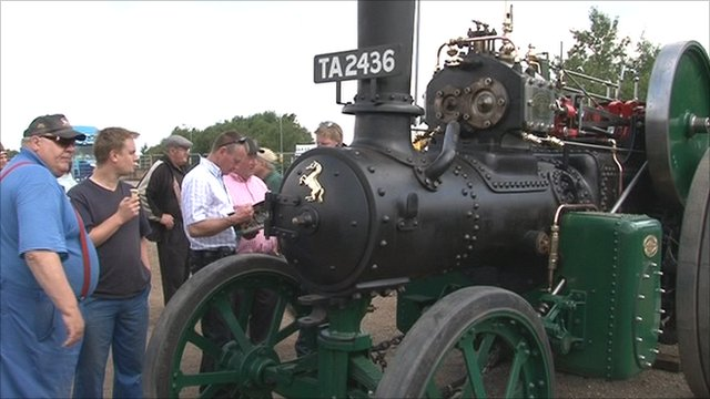 Auction of Fred Dibnah's restored traction engine