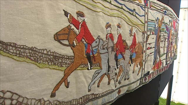 the prestonpans tapestry