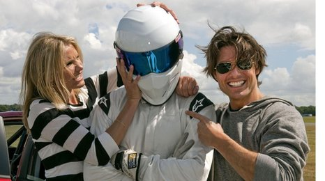 Cameron Diaz, The Stig and Tom Cruise
