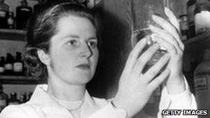 Margaret Thatcher research chemist