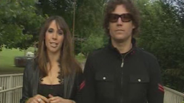 Alex Jones presenting on Welsh television