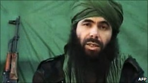 Abu Musab Abdul Wadud alleged AQIM chief (file photo)