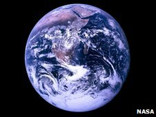 Earth viewed from space (Image: Nasa)