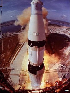 Apollo 11 mission launch (Image: AP)