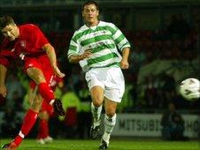 Steven Gerrard stars for Liverpool against TNS in 2005