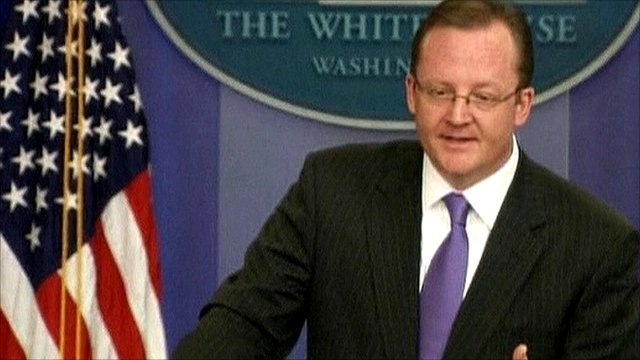 Robert Gibbs, White House spokesperson