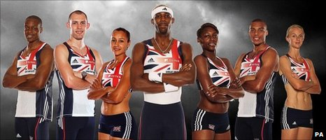 British athletes ahead of the 2010 European Championships