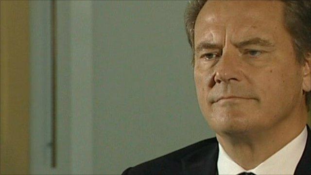 BP Chairman Carl-Henric Svanberg