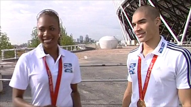 Tasha Danvers and Louis Smith