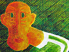 Argyle Man by Steve Clement-Large