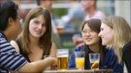 Drinking alcohol socially