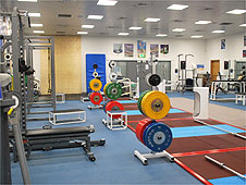 One of the training rooms at the English Institute of Sport in Sheffield