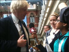 Mandeep talks to Boris Johnson about why young people should be involved