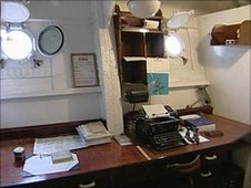 Inside the HMS Cavalier