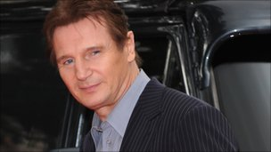 Liam Neeson at the UK premiere of The A-Team