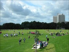 Netham Park in Bristol