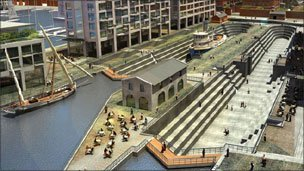 Artist&#039;s impression of Liverpool Waters