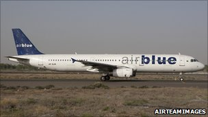 File photo of one of Airblue's A321 planes